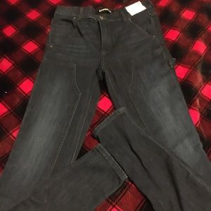BNWT Express legging High rise skinny jeans 0R